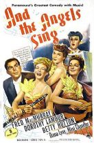 And the Angels Sing 1944 DVD - Dorothy Lamour / Fred MacMurray